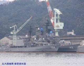 ユニバーサル造船に停泊してる護衛艦とか 2