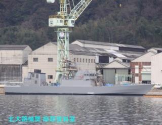 ユニバーサル造船に停泊してる護衛艦とか 8