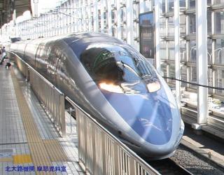京都駅の500系新幹線 1