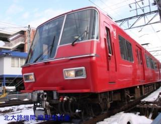 雪の名鉄5700系電車とその他 4