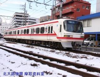 雪の名鉄5700系電車とその他 6