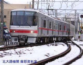 雪の名鉄5700系電車とその他 7