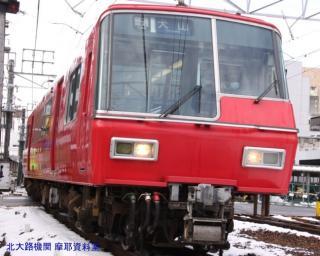 雪の名鉄5700系電車とその他 9