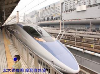 京都駅の500系新幹線 8
