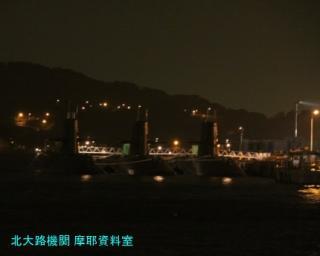 横須賀基地1024 電灯艦飾 2