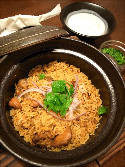 130322enso-奥美濃古地鶏の土鍋ビリヤニ