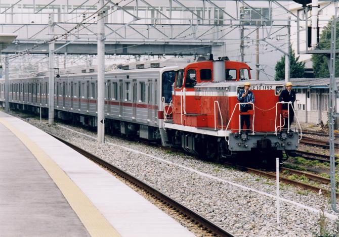 05・ED10-1192東京営団地下鉄納車(尼崎)1996.11.09