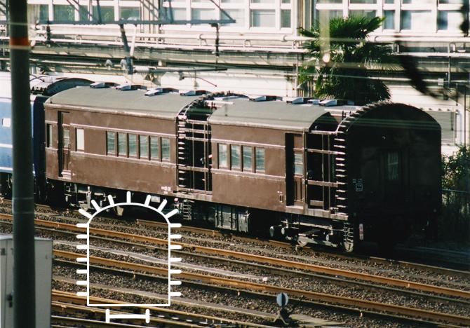 06・オヤ31-31型客車:花魁(おいらん:宮原)1996.11.09