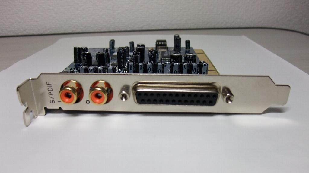 M-AUDIO Audiophile192 PCI側