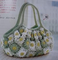 手編み夏バッグお手本