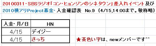 4/15愛の弾丸
