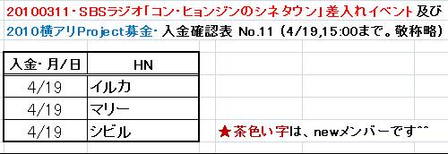 4/19愛の弾丸