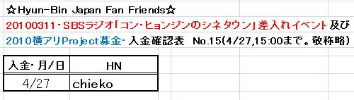 4/27愛の弾丸