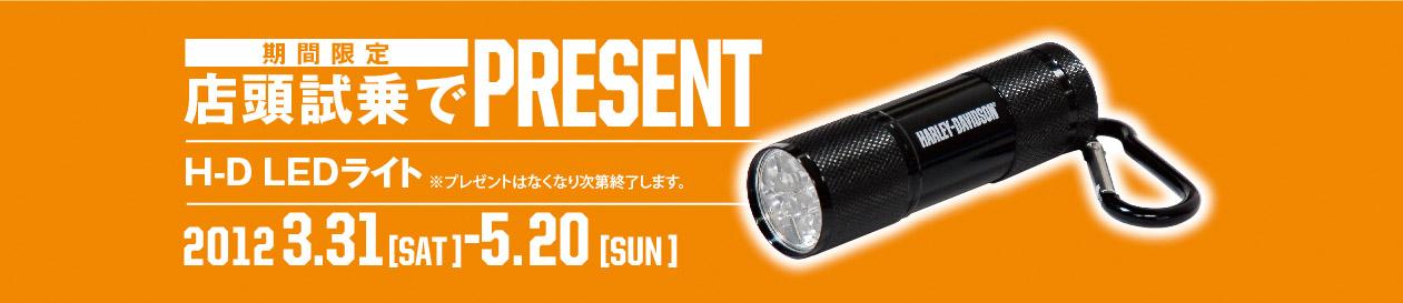 LED+プレゼント