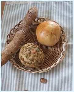ノモケナマのパン3種