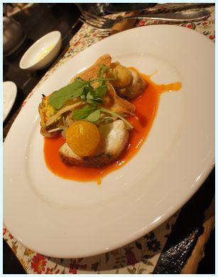 スミノエ レストラン メインのお魚