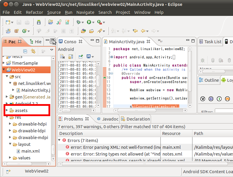 Screenshot-Java - WebView02-src-net-linuxlikerl-webview02-MainAcrtivity.java - Eclipse