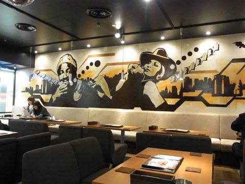 カフェ 店内