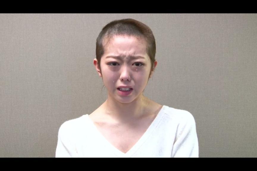 AKB48 峯岸みなみ 坊主