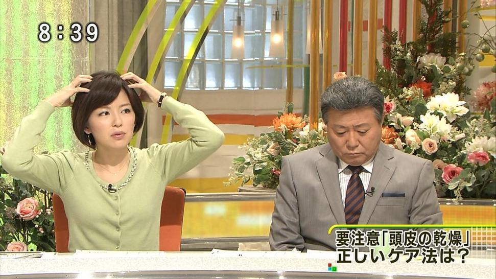 中野美奈子 小倉智昭 ヅラ