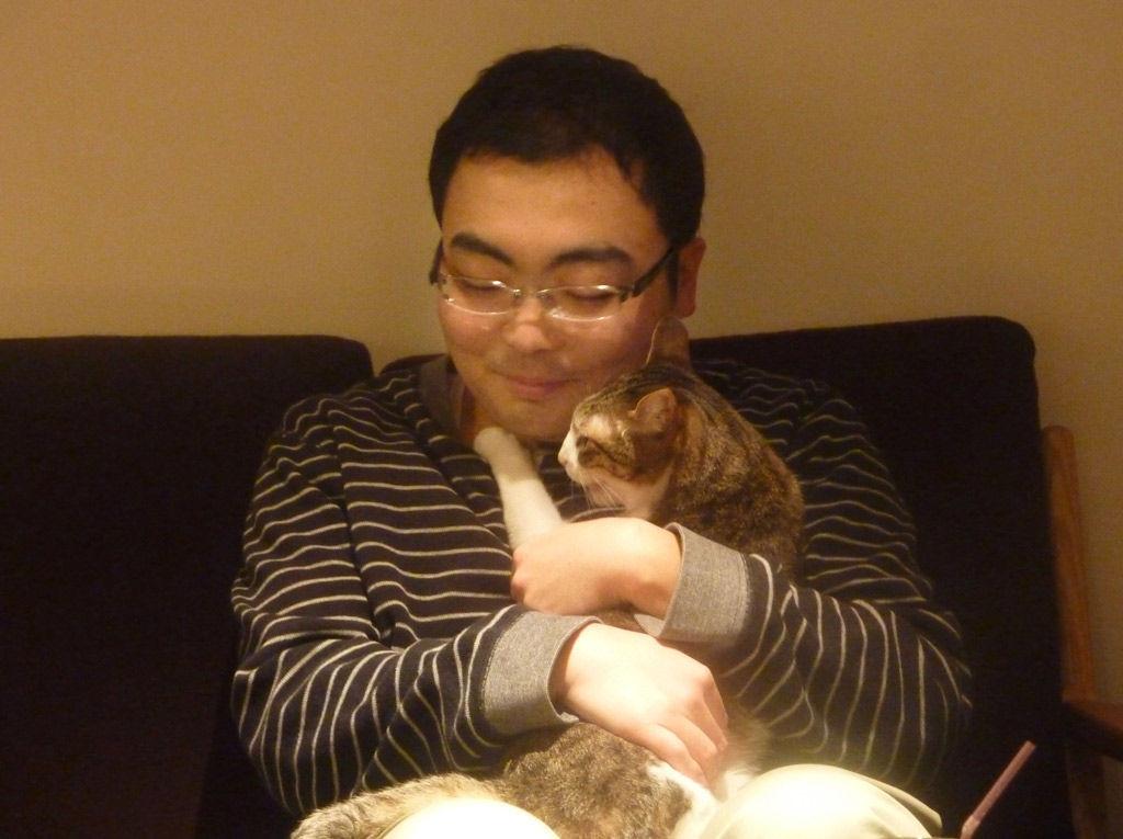 片山祐輔 遠隔操作 猫カフェ