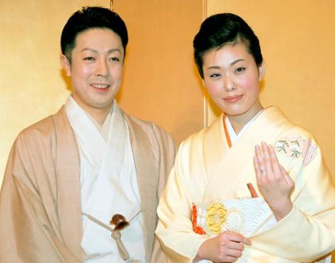 尾上菊之助 波野瓔子 婚約報告会見