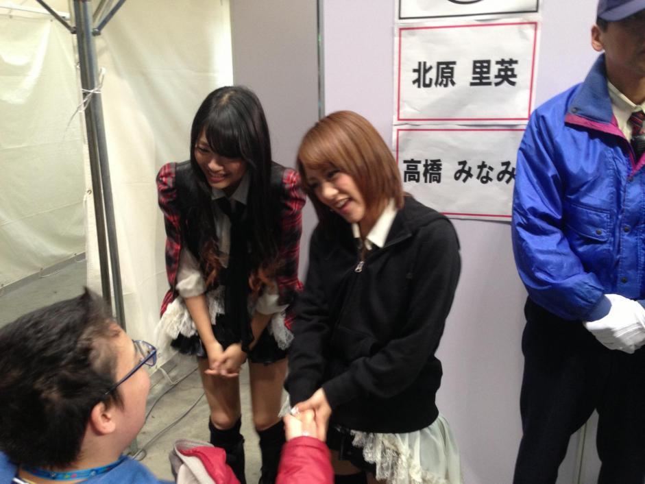 高橋みなみ AKB48 握手会