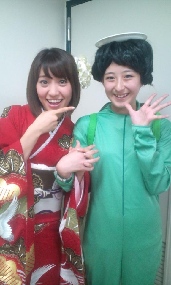 大島優子 伊豆田莉奈 AKB48