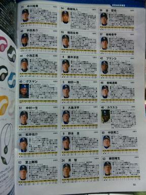 2011選手名鑑