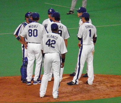 7月10日 山井投手1