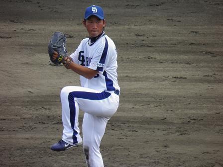 7月31日 高島投手