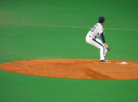 8月8日中田投手