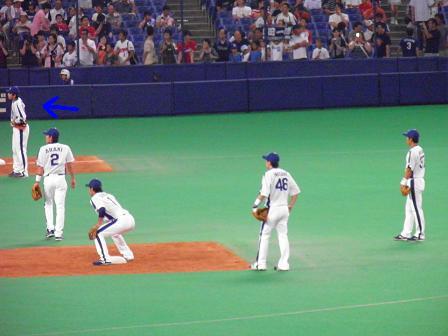 8月15日森野選手1