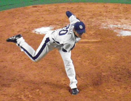 9月5日中田投手2