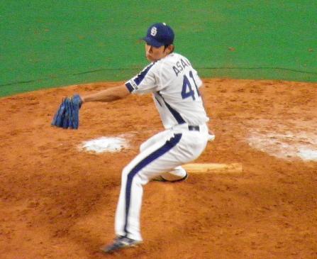 9月5日浅尾投手2