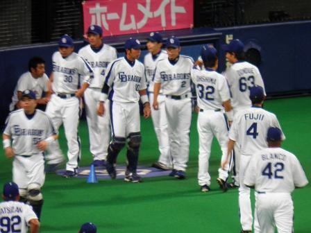 9月23日 阪神戦1