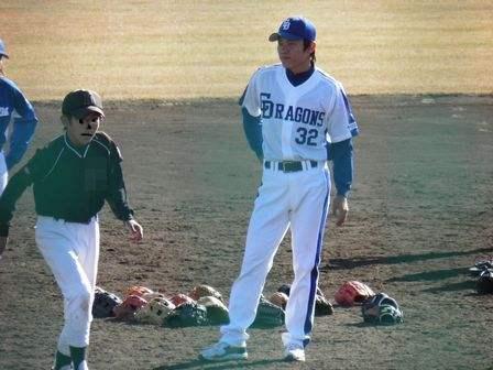 野球教室 大島選手1