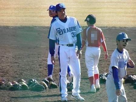 野球教室 大島選手2