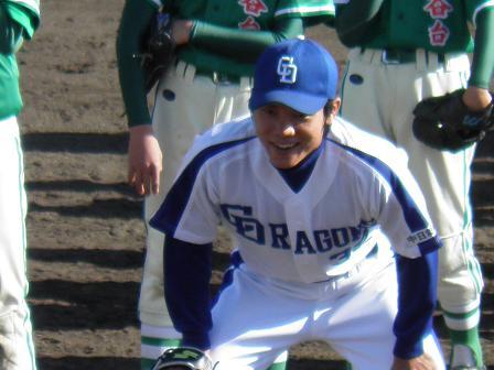 野球教室 大島選手3