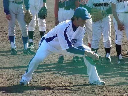野球教室 新井選手4