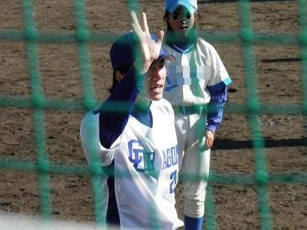 野球教室 新井選手2