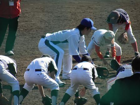 野球教室 新井選手3