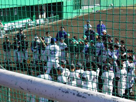 野球教室 新井選手1