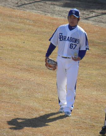 野球教室 高橋投手5