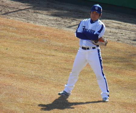 野球教室 高橋投手2