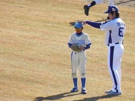 野球教室 高橋投手4