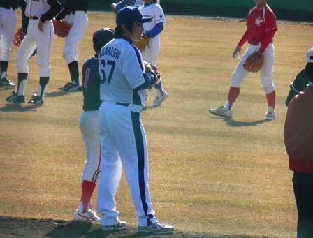 野球教室 高橋投手1