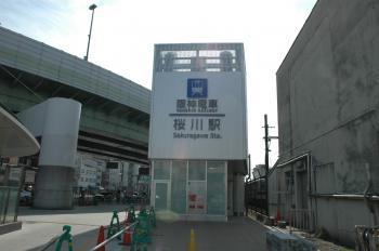 阪神桜川駅220130