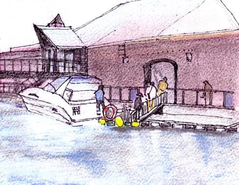 函館の運河