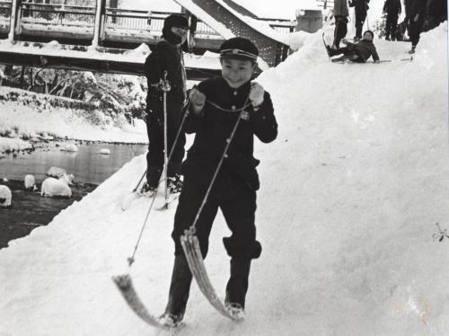 霞橋竹スキー